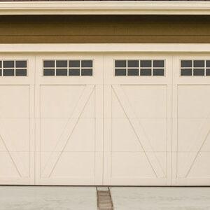Residential Carriage House Steel Garage Doors 6600