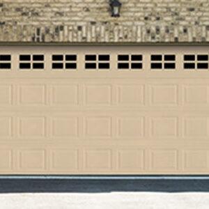 Residential Classic Steel Garage Doors 8024-8124