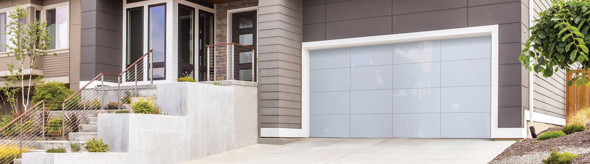 Aluminum Glass Garage Doors 8450