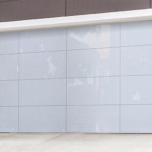 Residential Aluminum Glass Garage Doors 8450