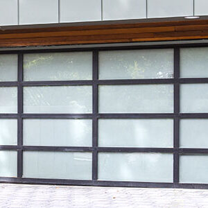 Residential Aluminum Glass Garage Doors 8800