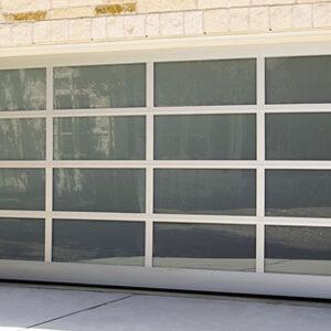 Residential Aluminum Glass Garage Doors 8850