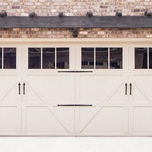 Residential Carriage House Steel Garage Doors 9700